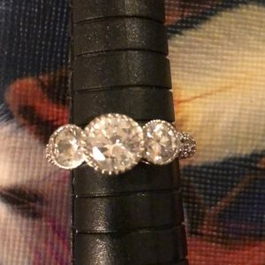 Jewelry - Cubic Zirconia and Sterling Ring